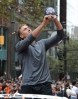 sf giants, san francisco giants, photo, parade, 10/31/2012, hunter pence