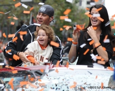 sf giants, san francisco giants, photo, parade, 10/31/2012, ryan vogelsong