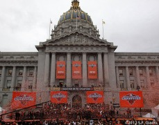 sf giants, san francisco giants, photo, parade, 10/31/2012, City Hall