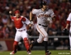 sf giants, san francisco giants, photo, 10/19/2012, nlcs game 5, barry zito, yadier molina
