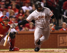 sf giants, san francisco giants, photo, 10/19/2012, nlcs game 5, pablo sandoval