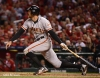 sf giants, san francisco giants, photo, 10/19/2012, nlcs game 5, hunter pence