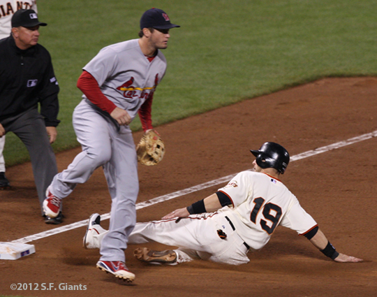 SF Giants, san francisco giants, photo, 10/14/2012, nlcs game 1, marco scutaro