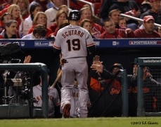 sf giants, san francisco giants, photo, 10/19/2012, nlcs game 5, team, marco scutaro