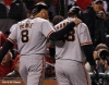 sf giants, san francisco giants, photo, 10/19/2012, nlcs game 5, hunter pence, pablo sandoval