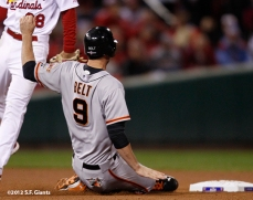 sf giants, san francisco giants, photo, 10/19/2012, nlcs game 5, brandon blet