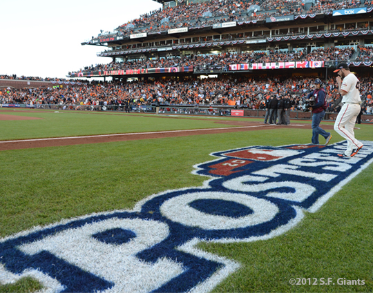 SF Giants, san francisco giants, photo, 10/14/2012, nlcs game 1, madison bumgarner,
