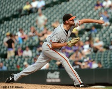San Francisco Giants, S.F. Giants, photo, 2012, Jeremy Affeldt