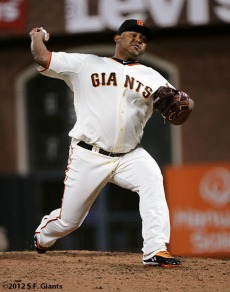 San Francisco Giants, S.F. Giants, photo, 2012, Jean Machi
