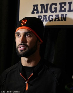 sf giants, world series, photo, 2012, angel pagan