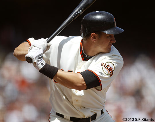 San Francisco Giants, S.F. Giants, photo, 2012, Brett Pill
