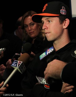 BUSTER POSEY, sf giants, world series, photo, 2012,