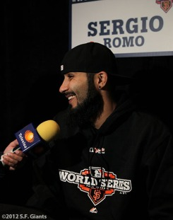 sf giants, world series, photo, 2012, SERGIO ROMO