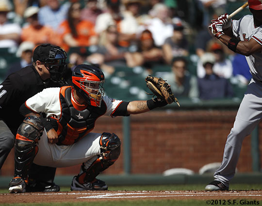 San Francisco Giants, S.F. Giants, photo, 2012, Hector Sanchez