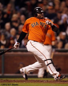 San Francisco Giants, S.F. Giants, photo, 2012, Pablo Sandoval