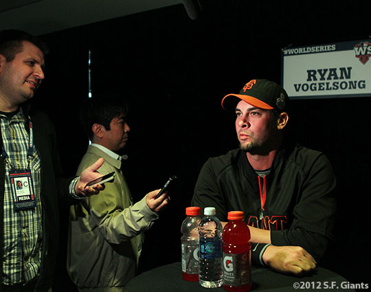 sf giants, world series, photo, 2012, ryan vogelsong
