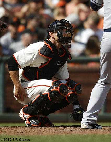 San Francisco Giants, S.F. Giants, photo, 2012, Eli Whiteside