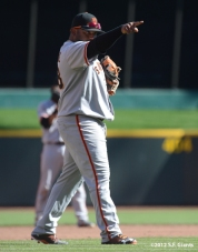 sf giants, nlds, game 5, 2012, photo, pablo sandoval
