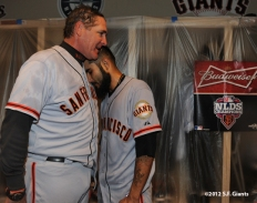sf giants, nlds, game 5, 2012, photo, dave righetti, sergio romo