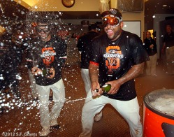 sf giants, nlcs, game 7, 2012, photo, pablo sandoval
