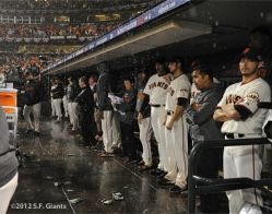 sf giants, nlcs, game 7, 2012, team