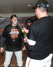 barry zito, jeremy affeldt, sf giants, nlcs, game 7, 2012, photo,