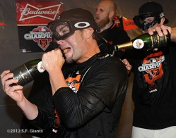 sf giants, nlcs, game 7, 2012, photo, ryan vogelsong, matt Cain