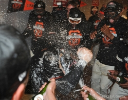 tea, marco scutaro, mvp, sf giants, nlcs, game 7, 2012, photo,