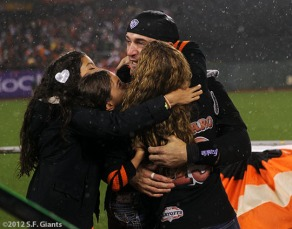 mvp, marco scutaro, familysf giants, nlcs, game 7, 2012, photo,