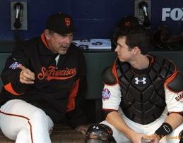sf giants, world series, buster posey, mvp, 2012, photo, bruce bochy