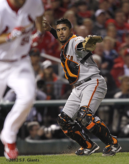 sf giants, world series, 2012, photo, hector sanchez