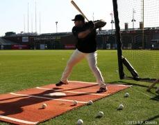 Pablo hitting