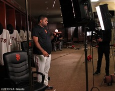 Pablo in the clubhouse