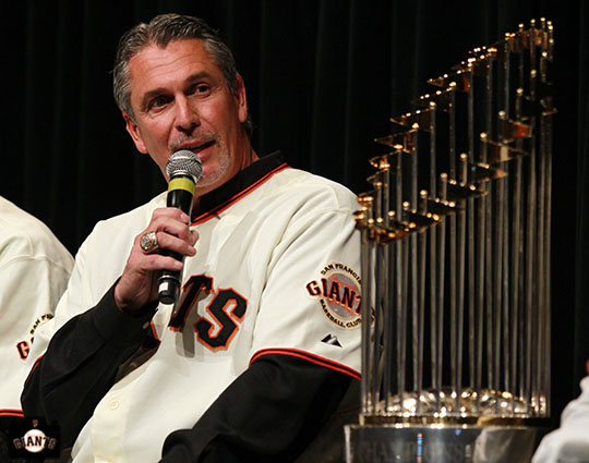 San Francisco Giants, S.F. Giants, photo, 2013, Town Hall, Ron Wotus