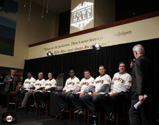 San Francisco Giants, S.F. Giants, photo, 2013, Town Hall, coaches