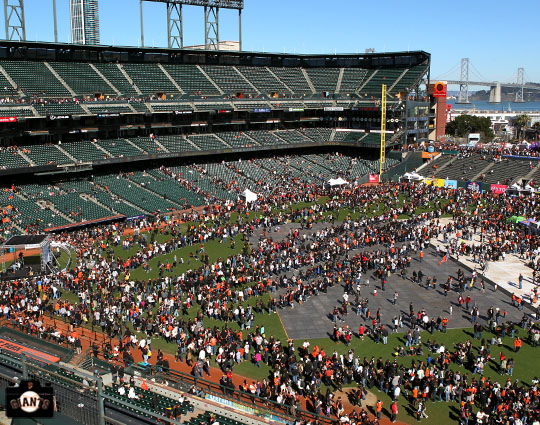 San Francisco Giants, S.F. Giants, photo, 2013, Fan Fest,