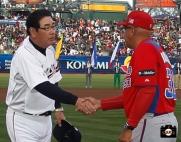 WBC, Puerto Rico, Japan, AT&T Park, San Francisco, Giants, edwin rodriguez, Koji yamamoto