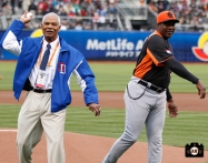 2013 world baseball classic, netherlands, dominican republic, AT&T Park, first pitch, felipe alou, bambam meulens