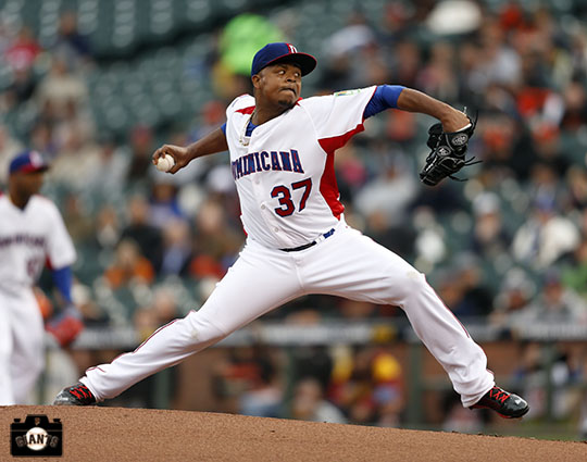 2013 world baseball classic, netherlands, dominican republic, AT&T Park, Edison Volquez
