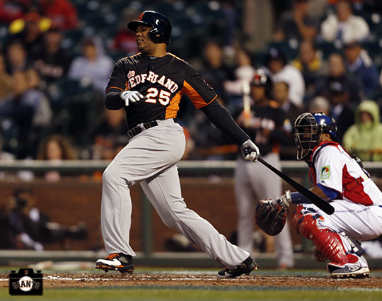 2013 world baseball classic, netherlands, dominican republic, AT&T Park, Andruw Jones