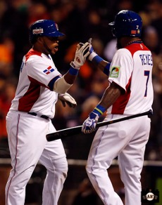 2013 world baseball classic, netherlands, dominican republic, AT&T Park, Carlos Santana