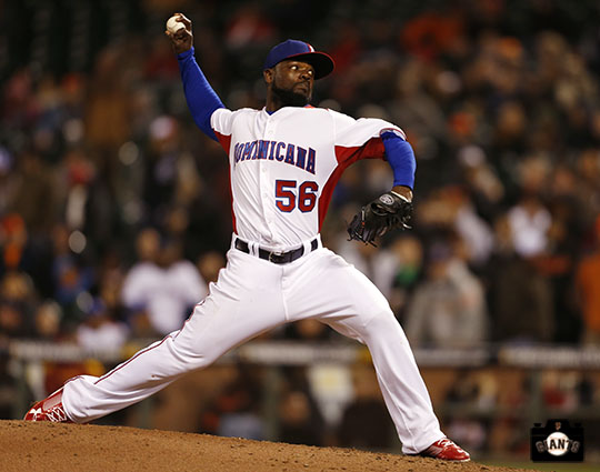 2013 world baseball classic, netherlands, dominican republic, AT&T Park, Fernando Rodney