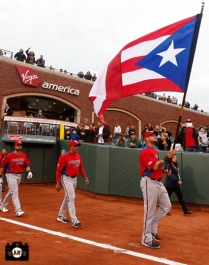 sf giants, at&t park, 2013 world baseball classic, puerto rico, finals, dominican republic, angel pagan, Edwin Rodriguez, Yadier Molina