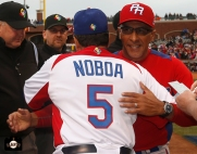 sf giants, at&t park, 2013 world baseball classic, puerto rico, finals, dominican republic, edwin rodriguez, junior noba