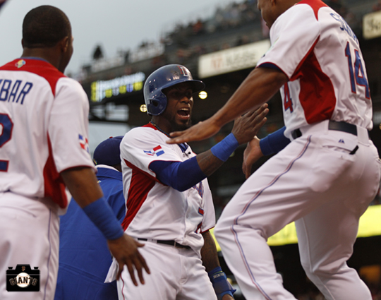 jose reyes, sf giants, 2013 world baseball classic, dominican republic, puerto rico,