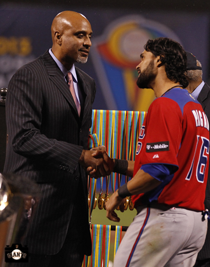 sf giants, 2013 world baseball classic, dominican republic, puerto rico, angel pagan