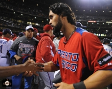 angel pagan, sf giants, 2013 world baseball classic, dominican republic, puerto rico,