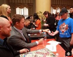 San Francisco Giants, S.F. Giants, photo, 2013, Play Ball Lunch, Jr. Giants, Matt Cain