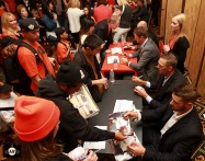 San Francisco Giants, S.F. Giants, photo, 2013, Play Ball Lunch, Jr. Giants, Matt Cain, Hunter Pence, George Kontos