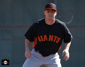2013 SF Giants, Gary Brown, photo